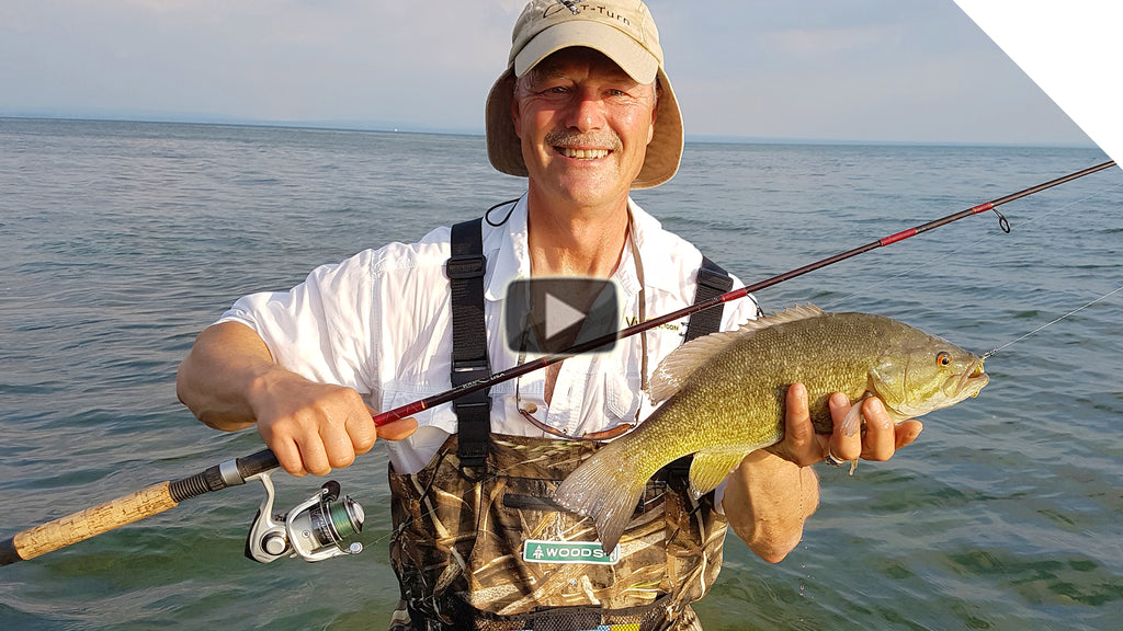 Wading and Crankbaiting for Smallmouth Bass - Boatless Angling at its Best!