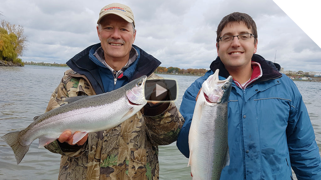 Bottom Bouncing for Niagara River Steelhead | Boatless Angler Series