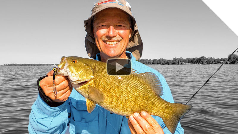 Spinning tips for Smallmouth Bass