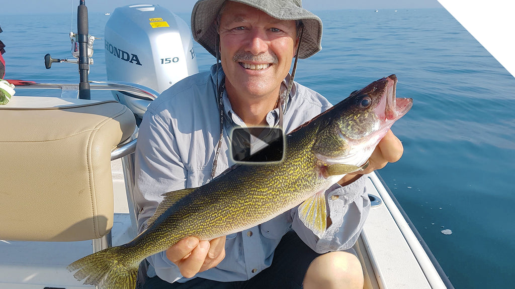 Summer Walleye on the Walleye Chop
