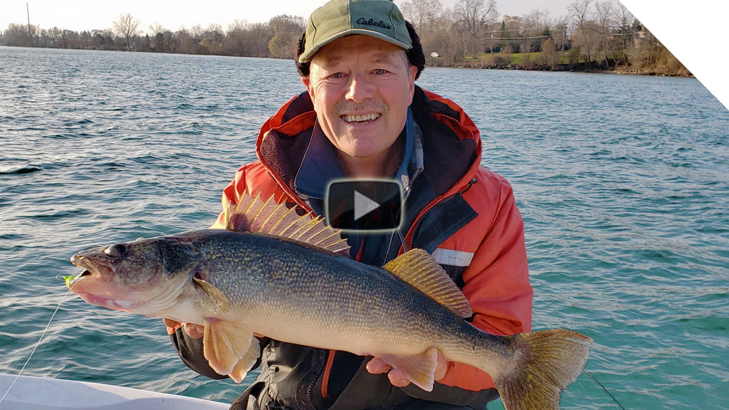 Jigging Tips for Catching Walleye in Rivers