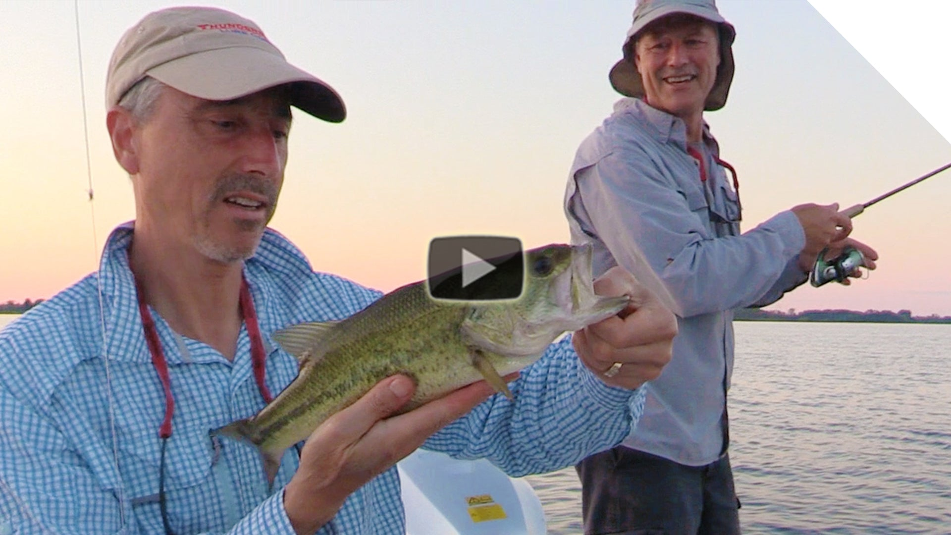 Topwater Largemouth Bass (with topwater fishing tips)