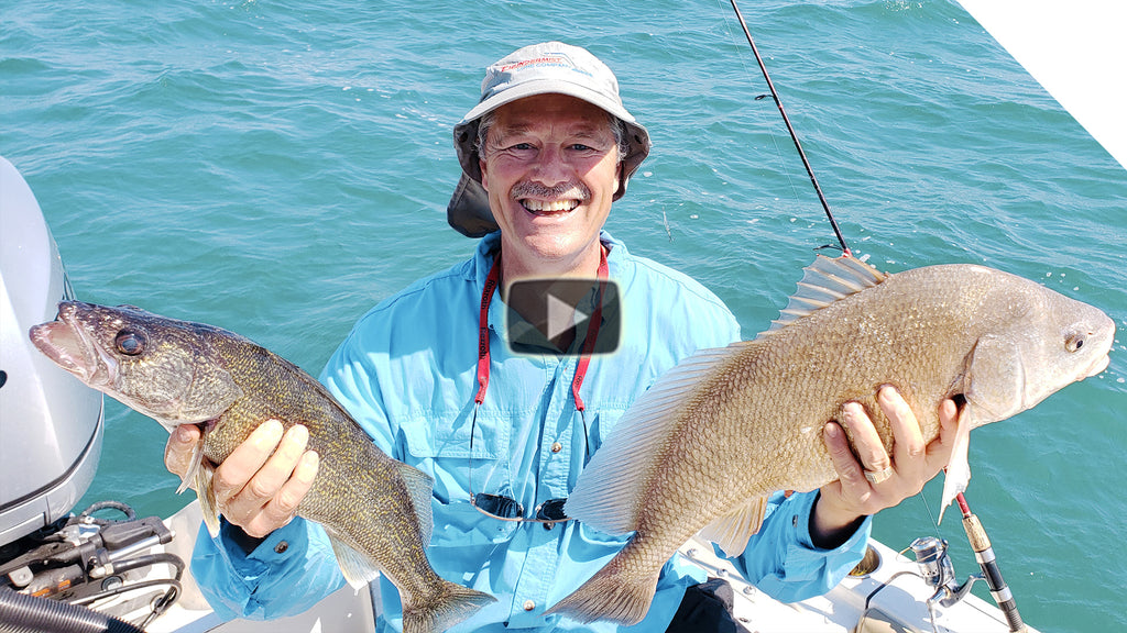 Sheephead Guide: Part 1 - Catching Sheephead (and walleye)