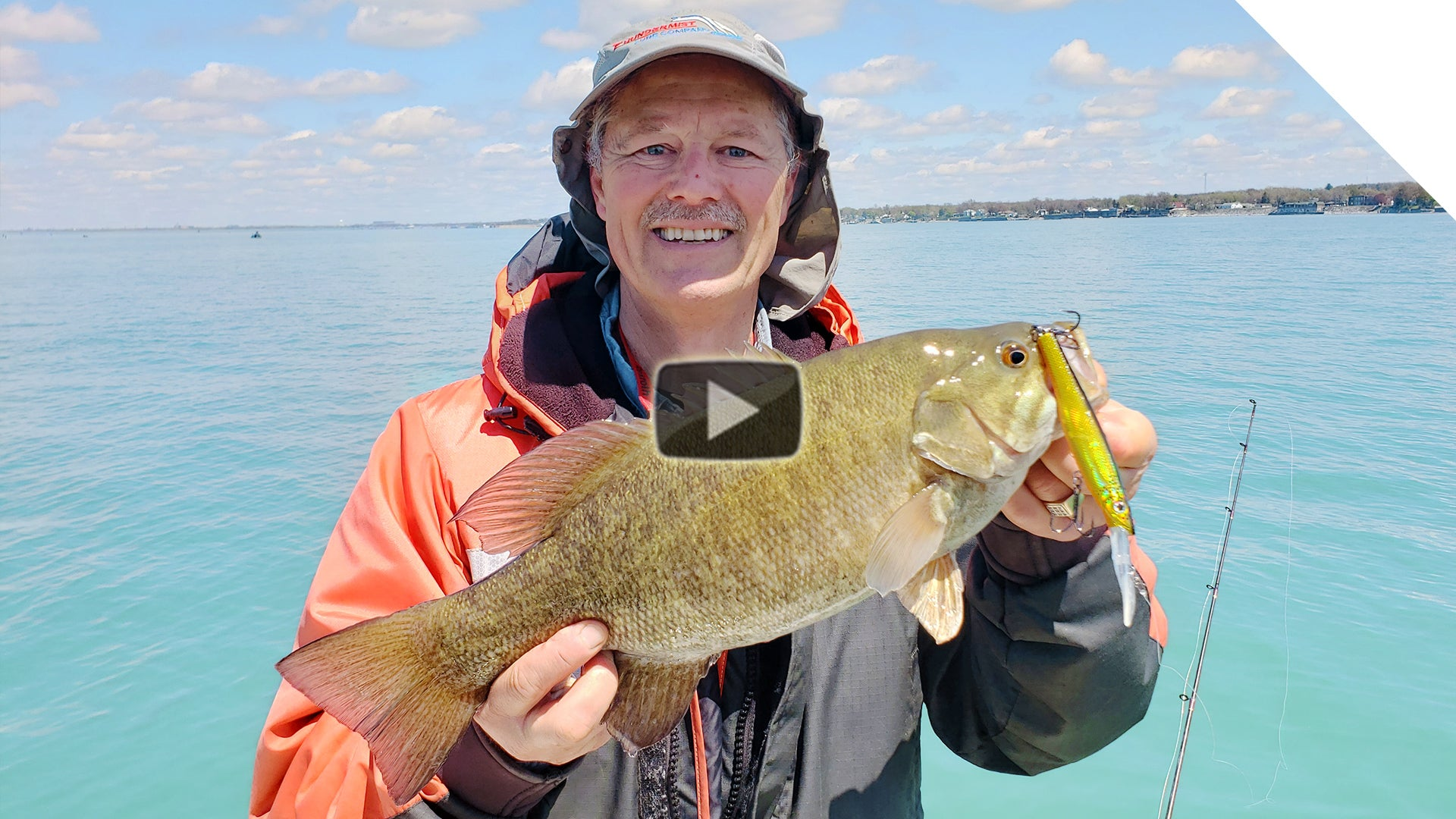 Trolling for smallmouth bass