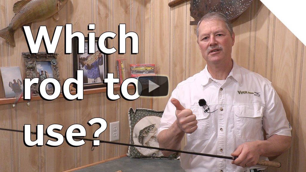 Which fishing rod to use and when? Fishing Rod Basics