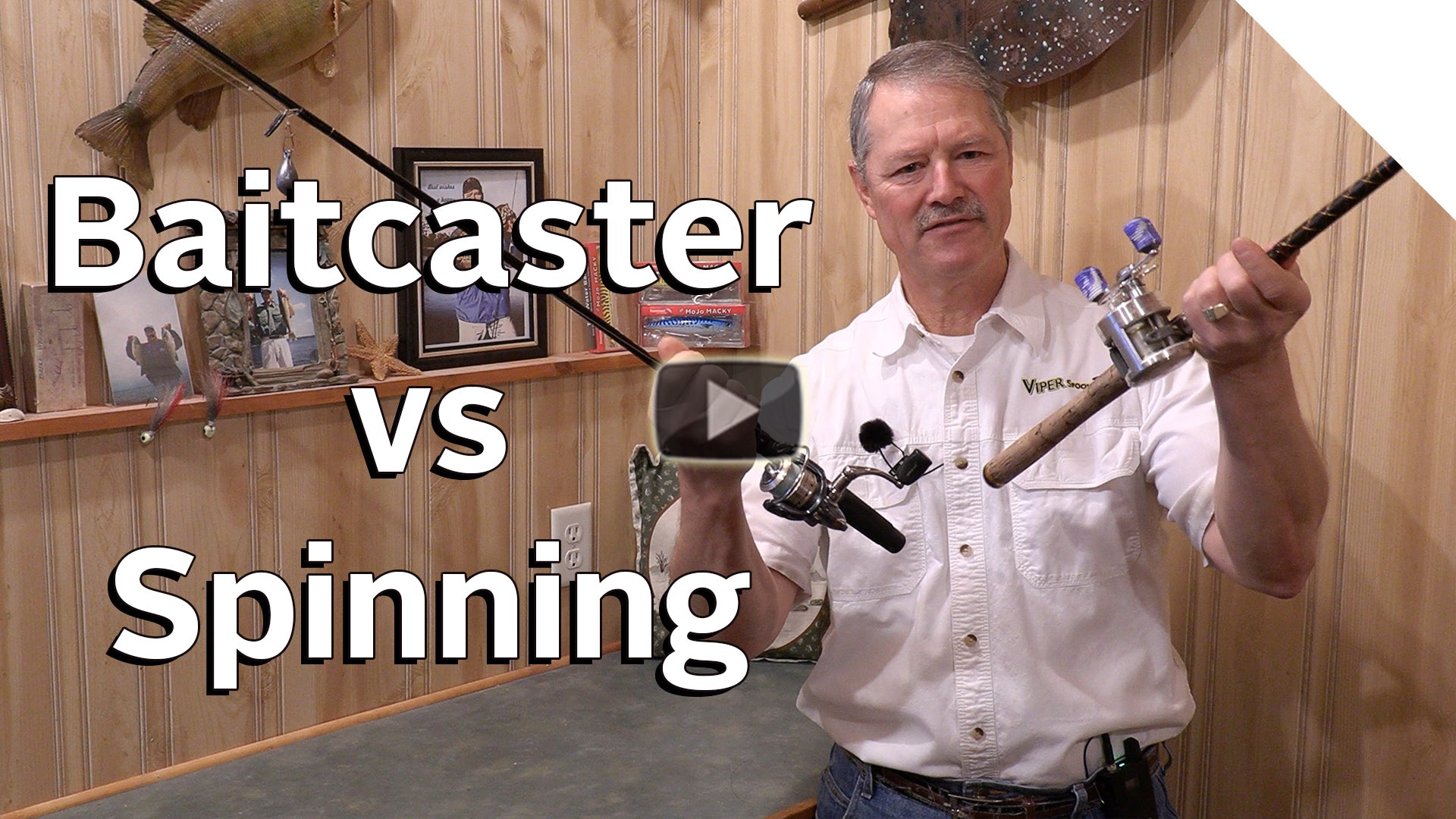 Baitcaster vs Spinning Reels - Fishing Rod and Reel Basics