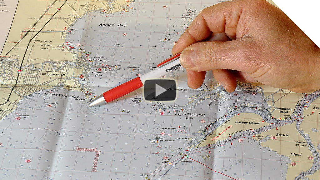 How to find fish hot-spots using a map