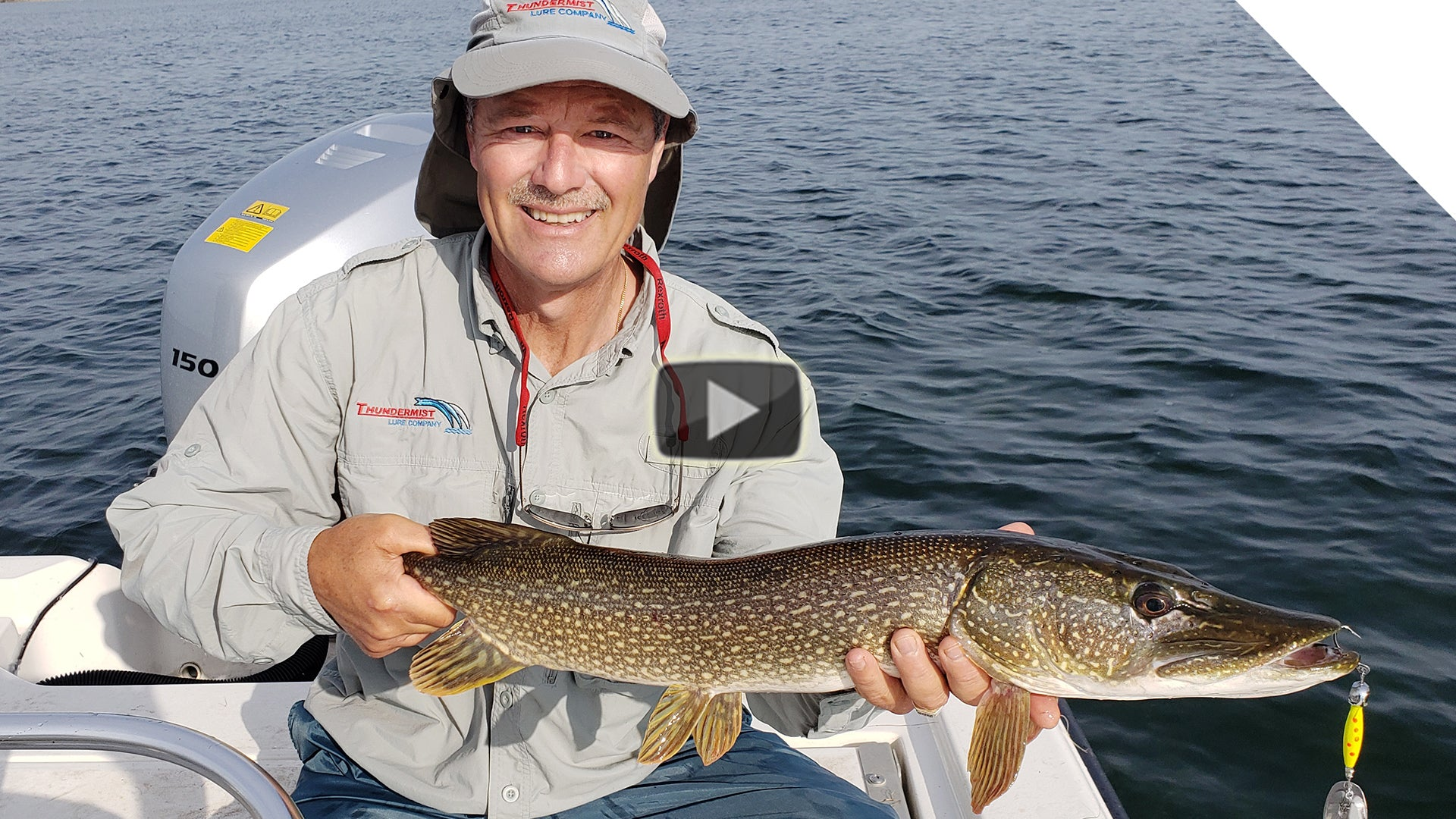 Pike, Largemouth Bass and panfish - Rondeau Bay Action!