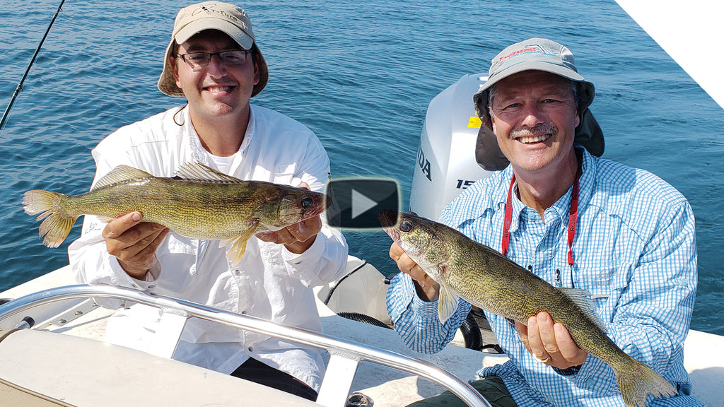 Trolling for Walleye - bottom bounce formula