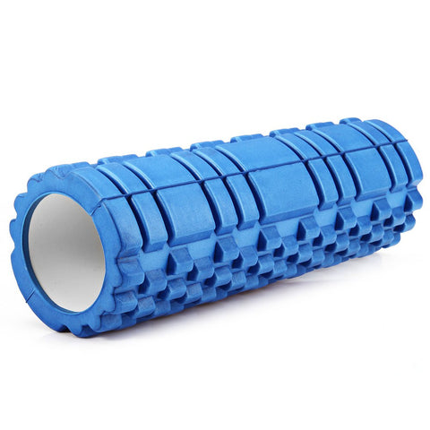 5 Colors Yoga Fitness Eva Foam Roller Blocks Pilates  Gym Exercises Physio Massage Roller FREE SHIPPING