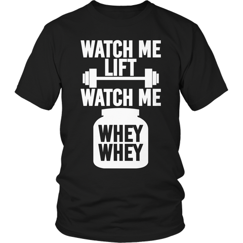 Limited Edition - Watch Me Lift Watch Me Whey Whey