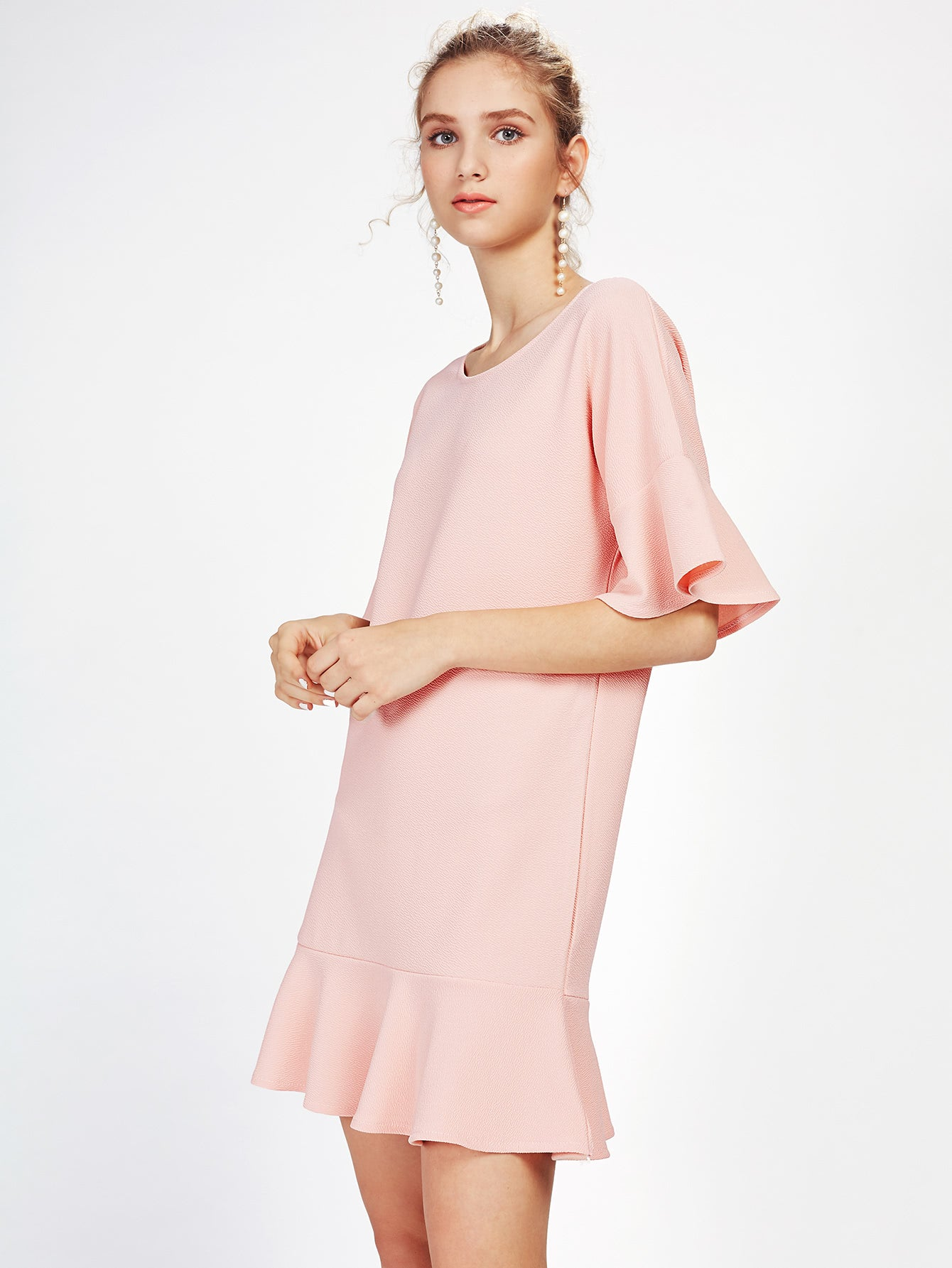 DROP HEM DRESS