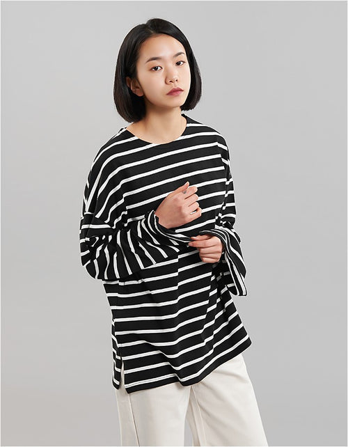 Oversized Striped