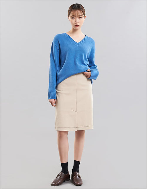 Cotton H-Line Skirt