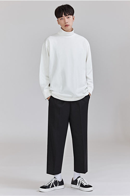 Oversize Turtleneck Tee