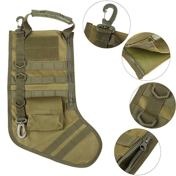 Molle Style Tactical Stocking - LIMITED QUANTITIES