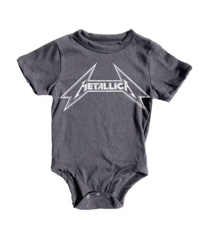 Metallica Distressed Onesie