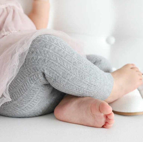 Footless Baby Tights