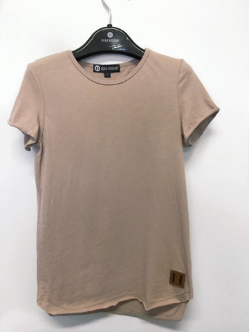 Blush Raw Edge Tee