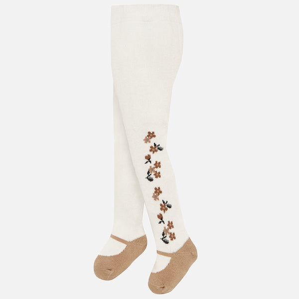 Floral Winter Tights - 10452-77