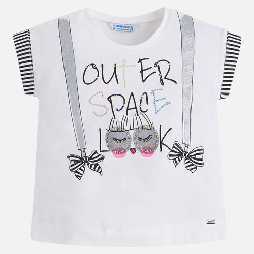Out Of Space Design T-Shirt - 3022-10