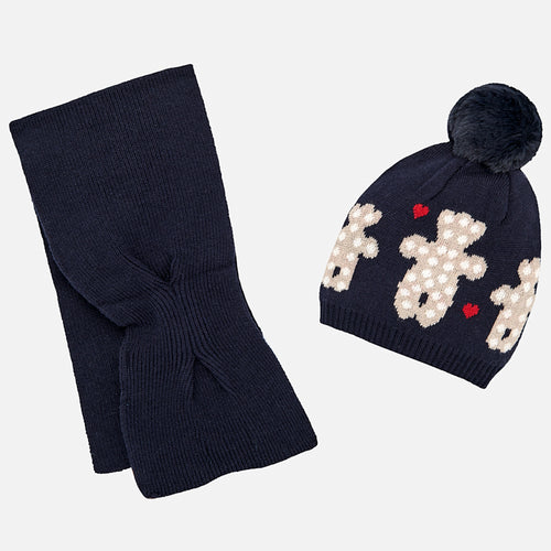 Hat and Scarf Set - 10462-92
