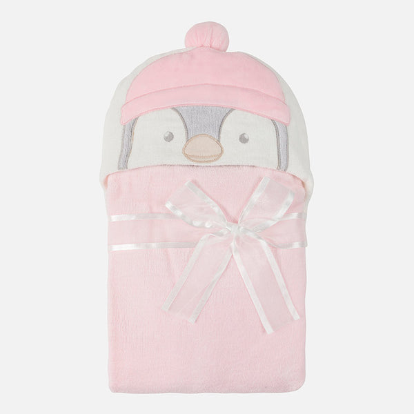 Penguin Hooded Towel - 9876-64