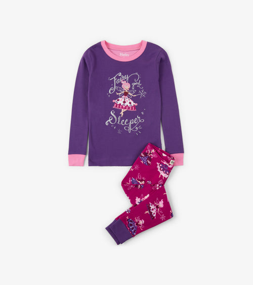 Fairy Sleeper Organic Cotton Pajama Set