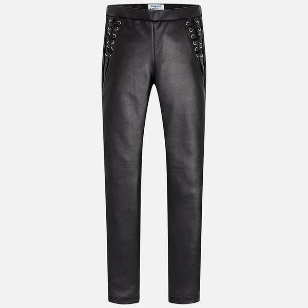 Leatherette Trousers - 7532-43