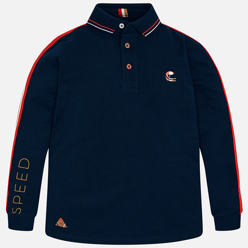 Navy Polo Shirt - 7106-48