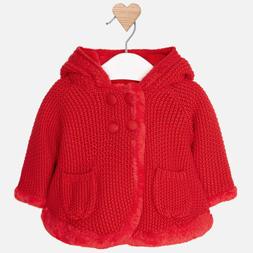 Knit Hooded Jacket - 2316-72