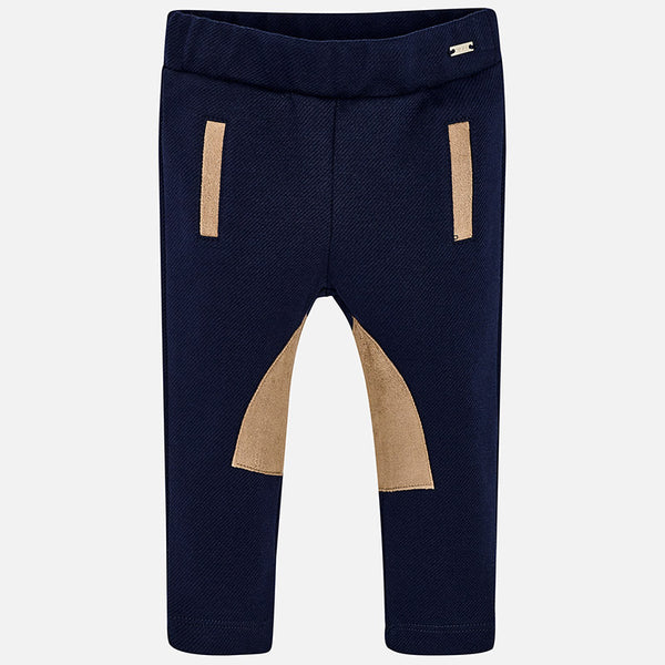 Two Tone Skinny Fit Trousers - 2582-83