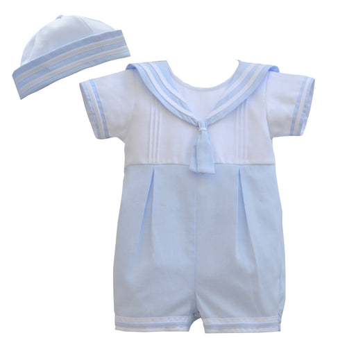 Sailer Romper Suit & Hat - DL61889