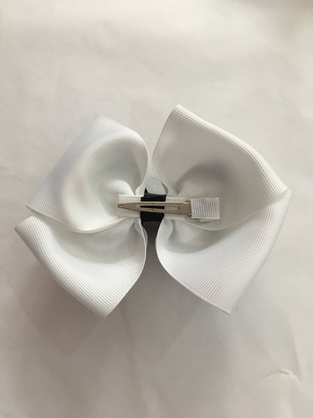 Black Checked Love Story Hair Clip