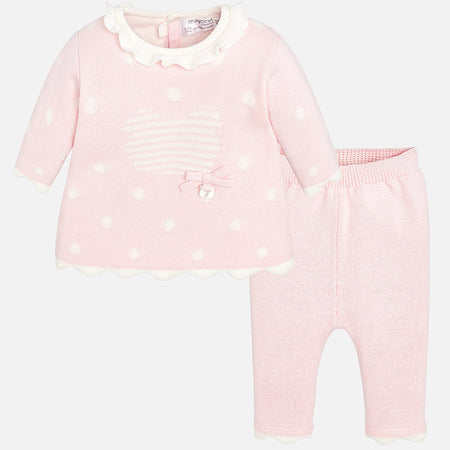 Padded Pramsuit Rose - 2616-77