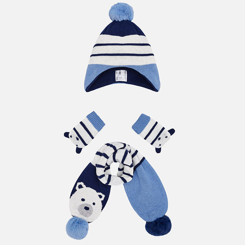 Hat, Scarf & Mittens Set - 9900-33