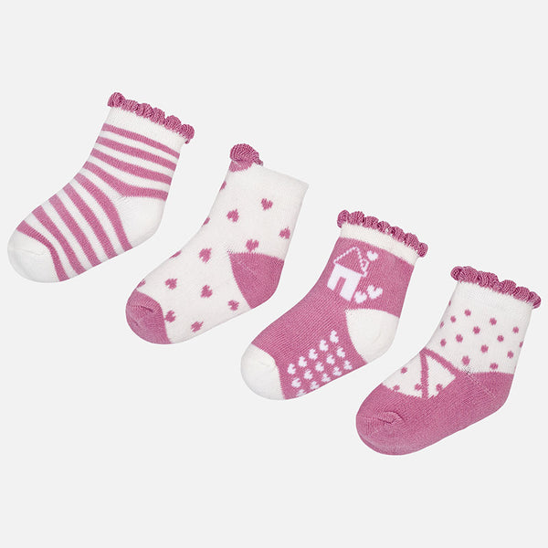 Pack of 4 Socks - 9896-81