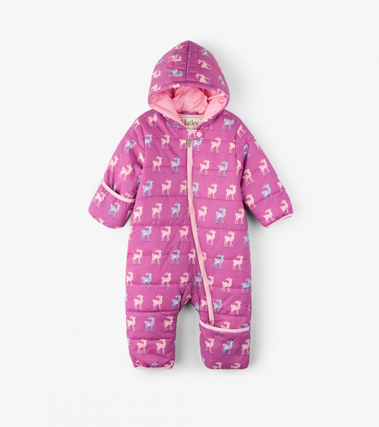 5fbb2c222b59 Patterned Fawns Baby Winter Bundler - Snowsuit – Lily and Roux