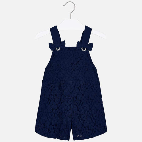 Short Lace Dungarees Outfit - 3602-94