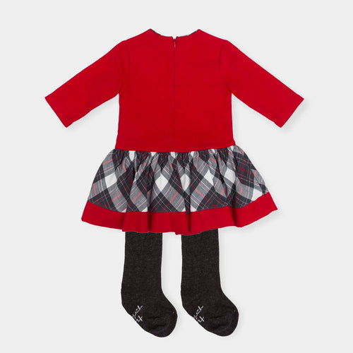 Dress and Tights Outfit - 5440