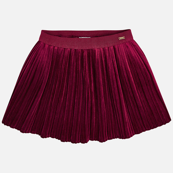 1ae64c1d0 Pleated Velvet Skirt - 4920-78 – Lily and Roux