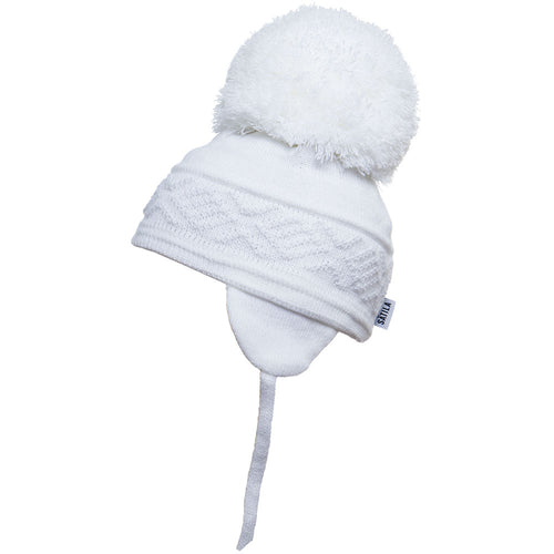 Satila Malva Pom Pom Hat - White