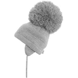 Satila Tuva Pom Pom Hat - Grey