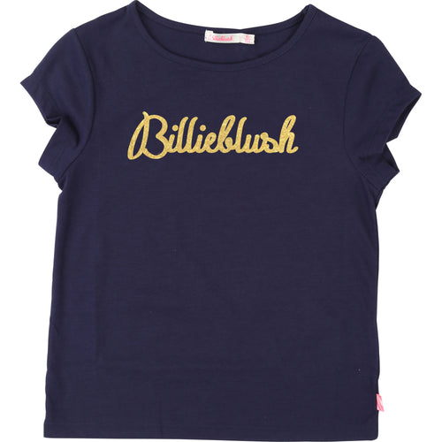 Gold Billie Blush Top - U15P02-85T