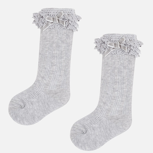 308e01183 Toddle Cable Knit Knee High Socks - 10457-68 – Lily and Roux