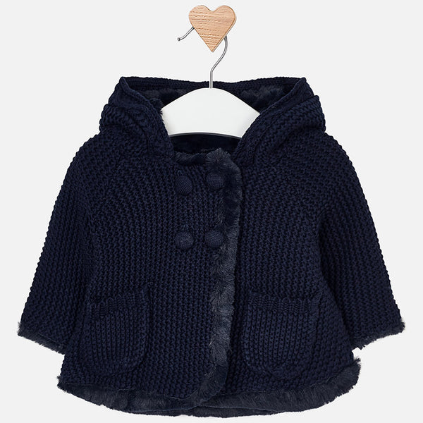 Knit Hooded Jacket - 2316-74