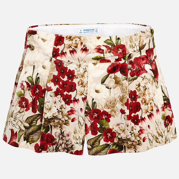 7cf92044e Floral Design Shorts - 4200-70 – Lily and Roux