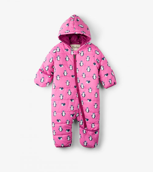 Precious Penguins Baby Winter Bundler - Snowsuit