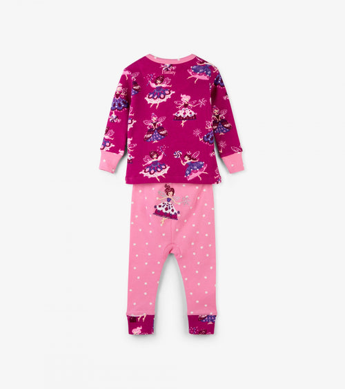 Fairy Princess Organic Cotton Baby Pajama Set