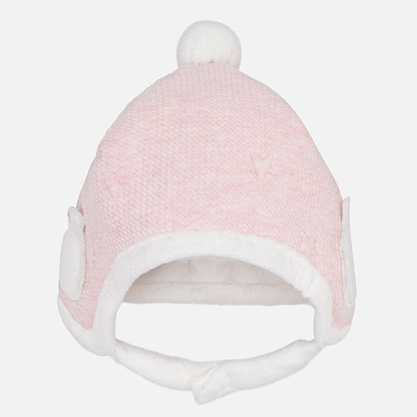 Pale Pink Teddy Bear Hat - 9905-77